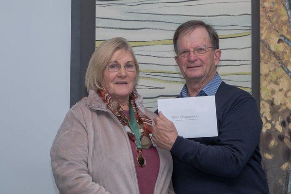 Carol and Doug - Gift presentation to Doug
