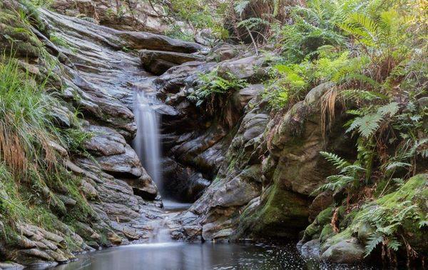 Ethereal Waterfall