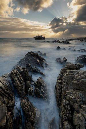 Meisho Maru sunset 2