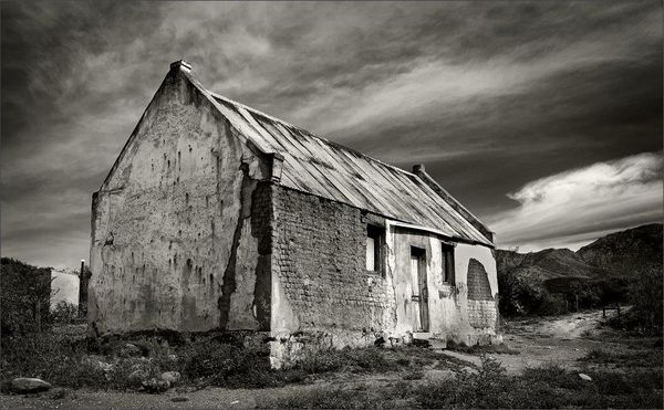 Old House in Monochrome