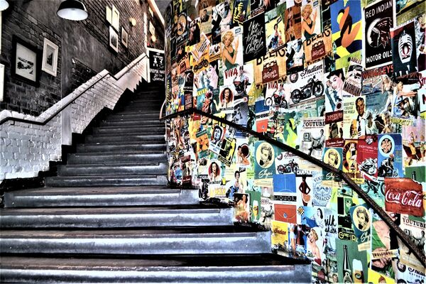 Stairway to heavenly grub