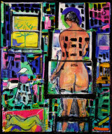 ©  Kourosh Bahar | Magdalene, 2010-2013, oil/canvas, 19x16