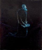 "©  Kourosh Bahar | chosen / supplicant, 2007, oil/canvas, 64x54""  by 2"" thickness"