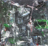 "©  Kourosh Bahar | visitation, 2004, oil/panel, 12x12"""