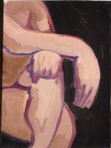 ©  Kourosh Bahar | resting hands, 1995, tempera/paper