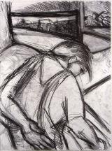 ©  Kourosh Bahar | drawing, 1995, charcoal/paper