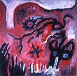 ©  Kourosh Bahar | black and red II, 1997, oil/canvas, 30x30