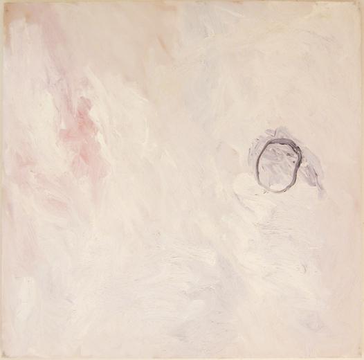 "© Kourosh Bahar | field of white, 1998, oil/canvas, 30x30"""
