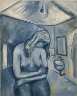 ©  Kourosh Bahar | night, 1998, oil/canvas, 16x20