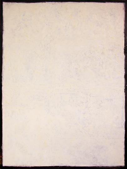 "©  Kourosh Bahar   white, 2000, oil/canvas, 48x30"""