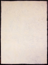 "©  Kourosh Bahar | white, 2000, oil/canvas, 48x30"""