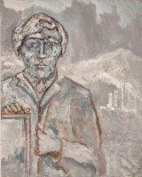 "©  Kourosh Bahar | blackheath, 2001, oil/canvas, 20x16"""