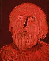 "©  Kourosh Bahar | [Apostles] VI, 10/2001, oil/canvas, 20x16"""