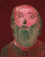 "©  Kourosh Bahar | [Apostles] VII, 10/2001, oil/canvas, 20x16"""