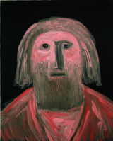 "©  Kourosh Bahar | [Apostles] VIII, 10/2001, oil/canvas, 20x16"""