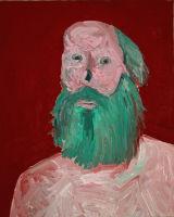"©  Kourosh Bahar | [Apostles] IX, 10/2001, oil/canvas, 20x16"""