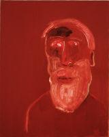 ©  Kourosh Bahar | #3 / mulla babak [Group-of-three], 2002-2003, oil/canvas, 20x16