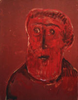 ©  Kourosh Bahar | #2 [Group-of-three], 2002-2003, oil/canvas, 20x16