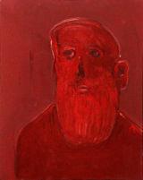 ©  Kourosh Bahar | #1 [Group-of-three], 2002-2003, oil/canvas, 20x16