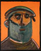 ©  Kourosh Bahar | [Epic] mulla omar, 2002, oil/canvas, 20x16