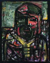 "©  Kourosh Bahar | [Epic] rostam, 2002, oil/canvas, 20x16"""