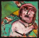 ©  Kourosh Bahar | imagist, 2002, oil/canvas, 24x24