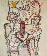 "©  Kourosh Bahar | Internal I, 2002, oil/canvas, 24x18"""