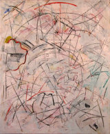 "©  Kourosh Bahar |  Odysseus, 2002, Oil+Charcoal/Canvas, 32x26"""