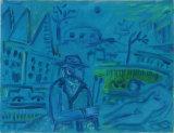 ©  Kourosh Bahar | billieburg, 2004, oil canvas, 9x12