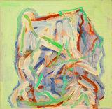 "©  Kourosh Bahar | clothes on chair II, 2005, oil/wood, 8.5 x 8.75"""