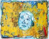 "©  Kourosh Bahar | flag, 2005, oil/canvas, 16x20"""