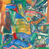 "© Kourosh Bahar  |  interiors, 2005, oil on canvas, 24x24"""