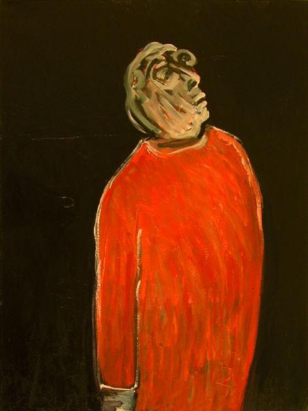 "© Kourosh Bahar | siren, 2006, oil/canvas, 36x27"""