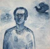 ©  Kourosh Bahar | selfpt, 1999, oil/canvas, 30x30