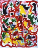 ©  Kourosh Bahar | head, 2001, oil/canvas, 30x24