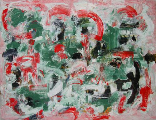 "©  Kourosh Bahar | <i>interior, 2001, oil/canvas, 30x40"""
