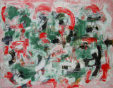"©  Kourosh Bahar | interior, 2001, oil/canvas, 30x40"""