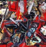 ©  Kourosh Bahar | Down-the-hatch, 2003, oil/canvas, 12x12