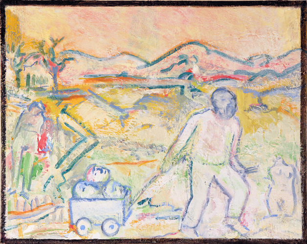 "© Kourosh Bahar | journeyman, 2014/2005, oil on canvas, 16x20"""