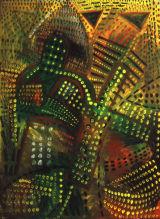 ©  Kourosh Bahar | templar, 2001, oil/canvas, 48x36