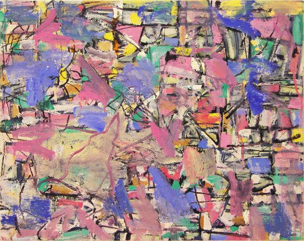 "©  Kourosh Bahar | krypton, 2012, oil/canvas, 16x20""  by  3/4"" thickness"