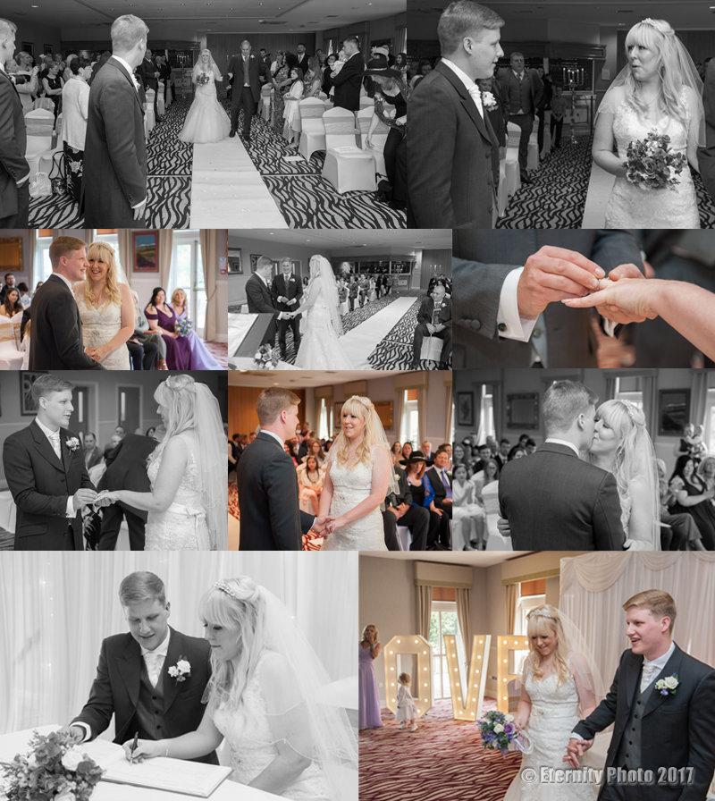 Wedding Ceremony _ Bagden Hall Hotel
