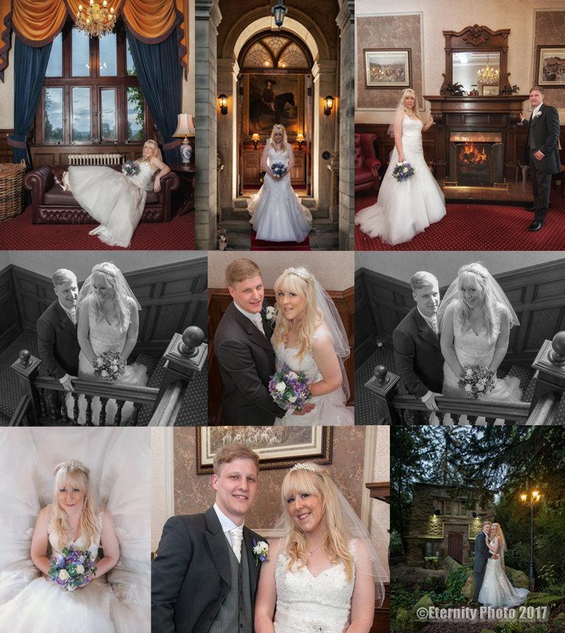 Bride and Groom _ evening shots_ Bagden Hall Hotel