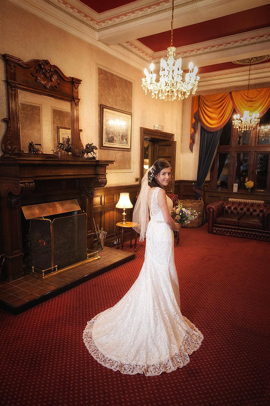 West Yorkshire wedding photography by Eternity Photo Ltd.  Bridal shoot.