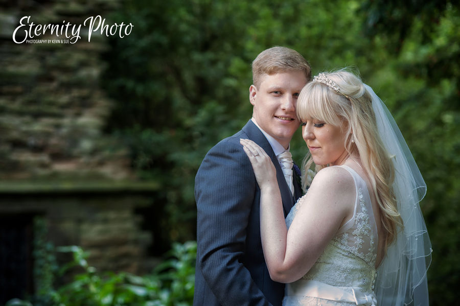 Bagden Hall wedding photographer. Wakefield photography by Eternity Photo Ltd.  Bride and groom.