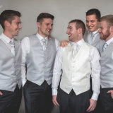 Wakefield wedding photography by Eternity Photo.  The groom and the groomsmen. Groom prep prior to the wedding.