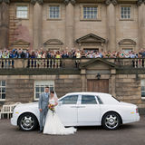 Nostell Priory wedding photography by Eternity Photo. Bride, groom and the wedding party.