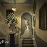 Yorkshire wedding photography by Eternity Photo Ltd.  Bridal shoot at Hodsock Priory.