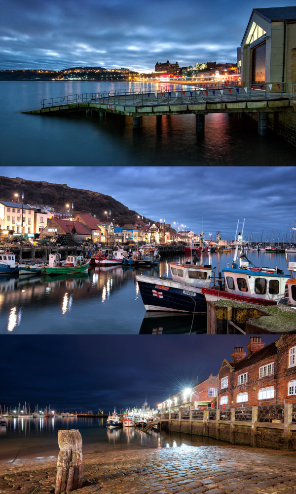 Scarborough_by_night