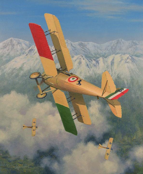 SPAD VII. 1918.